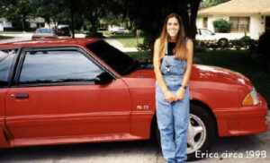 Erica Ortiz's first car
