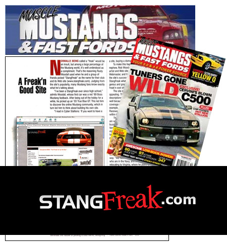 Muscle Mustangs and Fast Fords mention