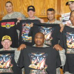 Racing support to our Military