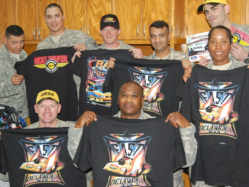 Race support for our military