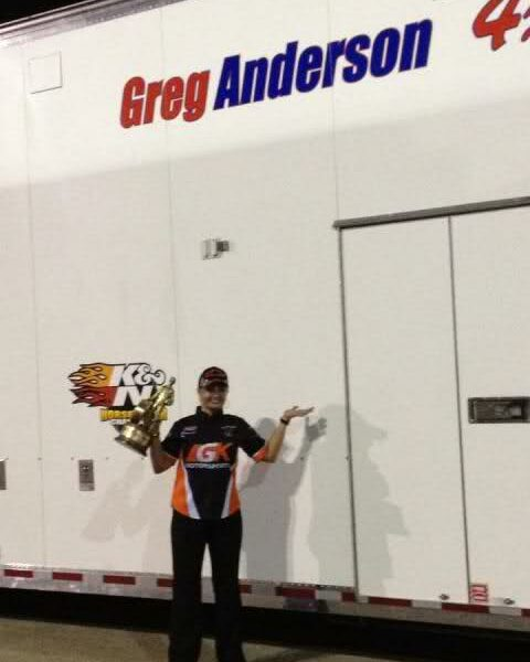Enders' infamous shot in front of Greg Anderson's trailer.