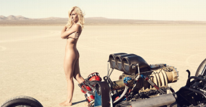 Courtney Force ESPN Mag Body Issue