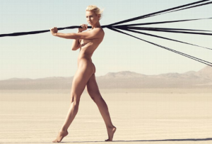 Courtney Force ESPN Magazine Body Issue