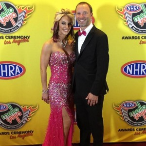 Angie Smith at NHRA Banquet