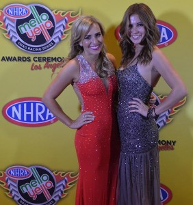 Brittany Force at NHRA Banquet
