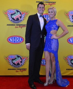 Courtney Force at NHRA Banquet