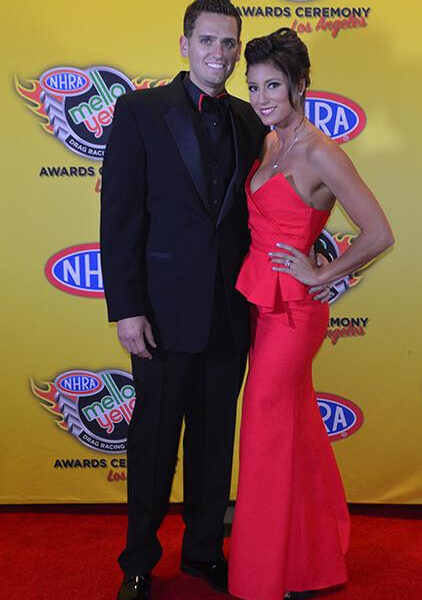 Leah Pritchett at the NHRA Banquet