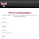 Women Racing Database