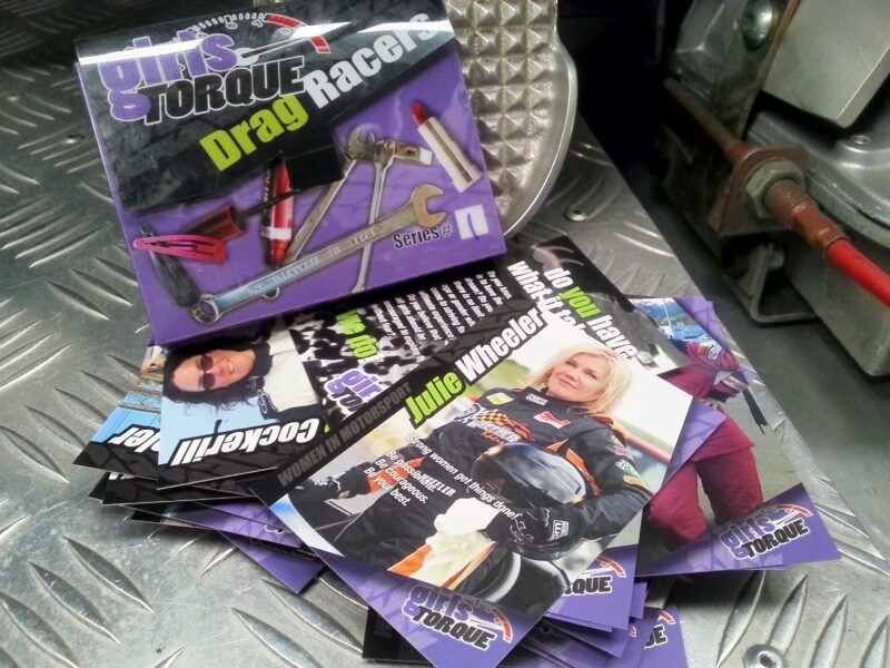 Girl Torque Racing Collector Cards