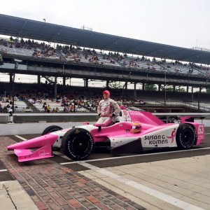 Pippa Mann qualifies for Indy 500