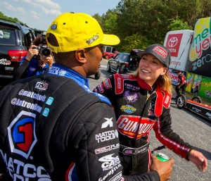 Post Final Antron Brown/Leah Pritchett