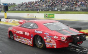 Erica Enders qualifying in Topeka