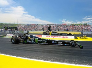 Brittany Force wins Rd2 vs Crampton