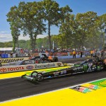 Brittany Force runner-up in Top Fuel