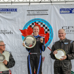 Amy Castell triple podium