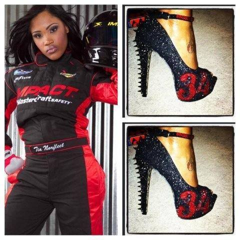 Tia Norfleet Horsepower and Heels
