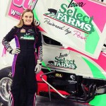 Teenage Female Racer McKenna Haase
