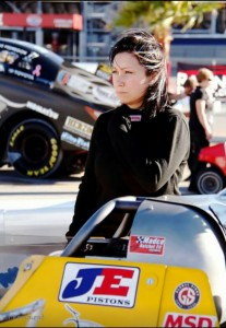 Ashley Huffman Top Dragster