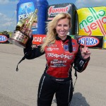Courtney Force breaking barriers in sports