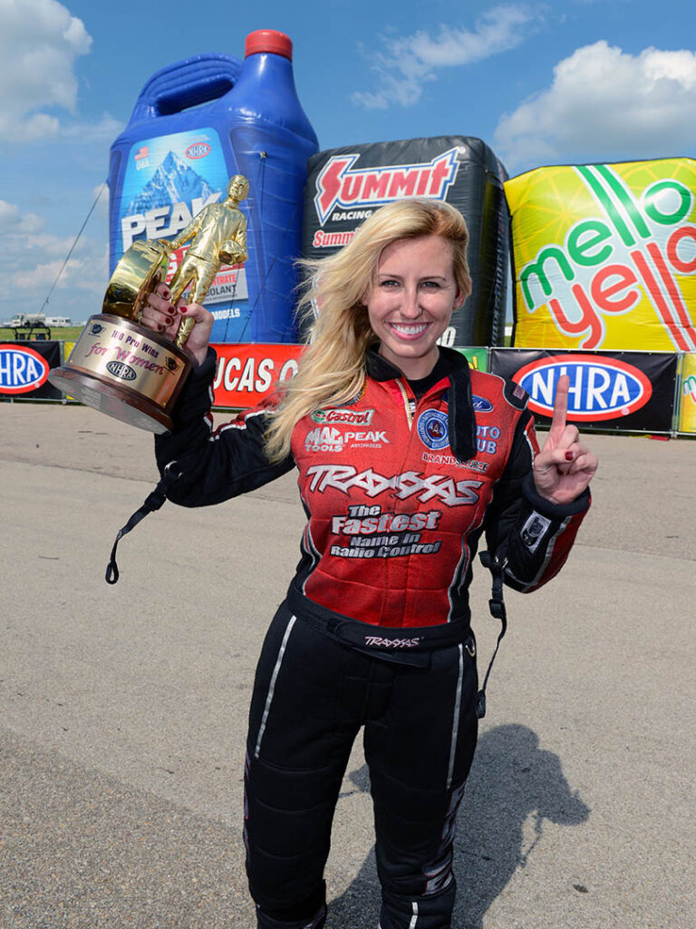 Courtney Force 100th win