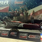 Shea Holbrook wins first IHRA Jet race