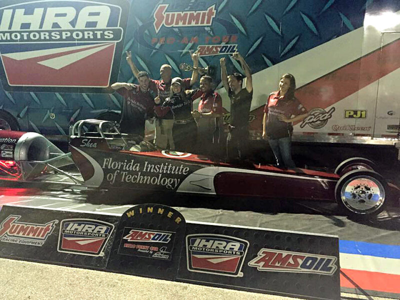 Shea Holbrook wins first jet race