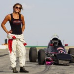 Leah Pritchett in Formula Ford