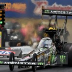 Brittany Force lands No. 1 in Soggy PA