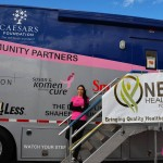 115 free mammograms at NHRA races