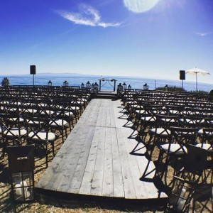 Courtney Force weds Graham Rahal in this beautiful beach ceremony location