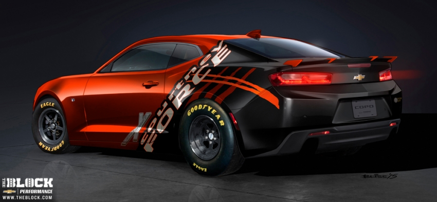 Chevrolet Unveils Courtney Force Copo Camaro Concept At The Sema