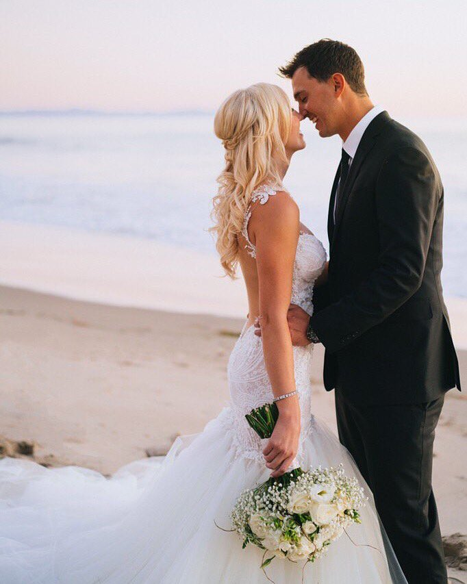 Courtney Force weds Graham Rahal