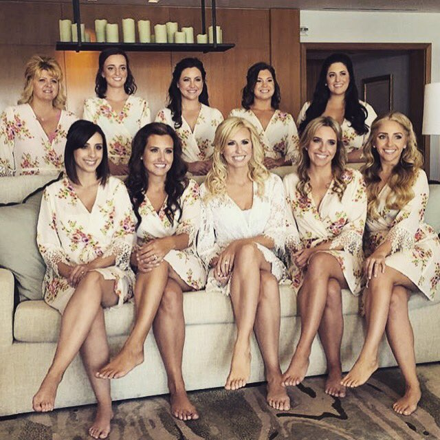 Courtney Force's Bridesmaids