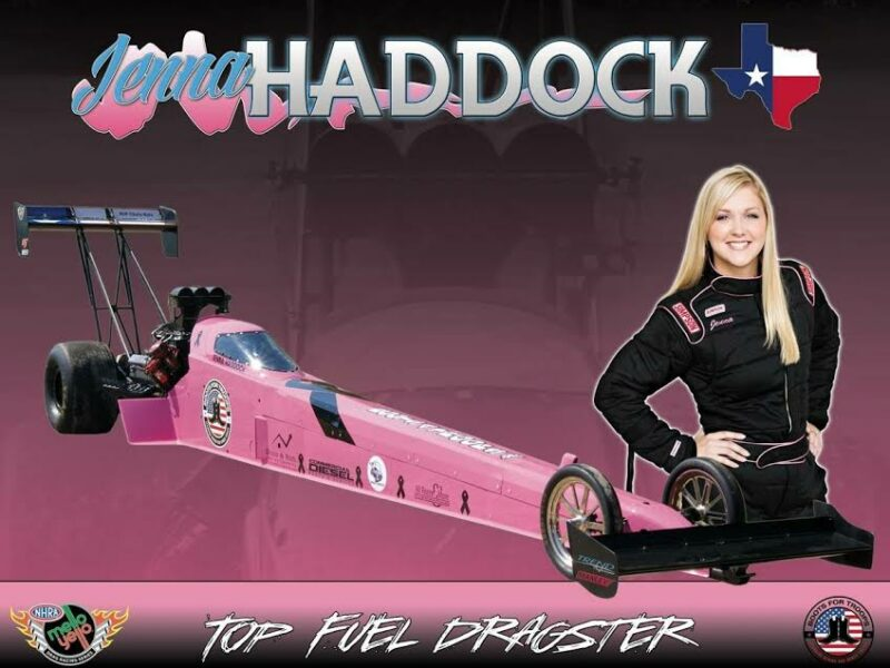 Jenna Haddock finishes the 2015 NHRA season