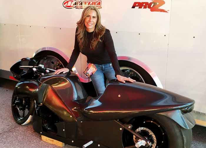 Valerie Thompson 2016 PSM NHRA