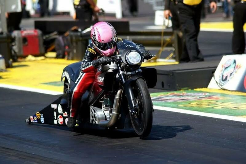 Victory Motorcycle driver Angie Smith ready for 2016