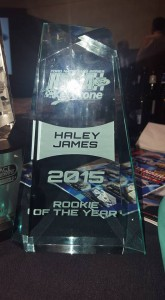 Rookie of the Year Haley James