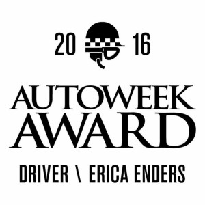 Autoweek names Erica Enders as their inaugural Driver Award recipient