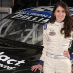Julia Landauer in NASCAR K&N Pro Series