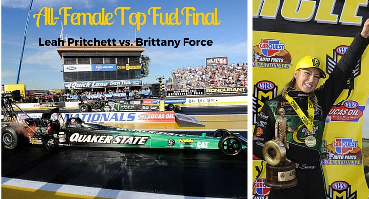 All-female final in Top Fuel