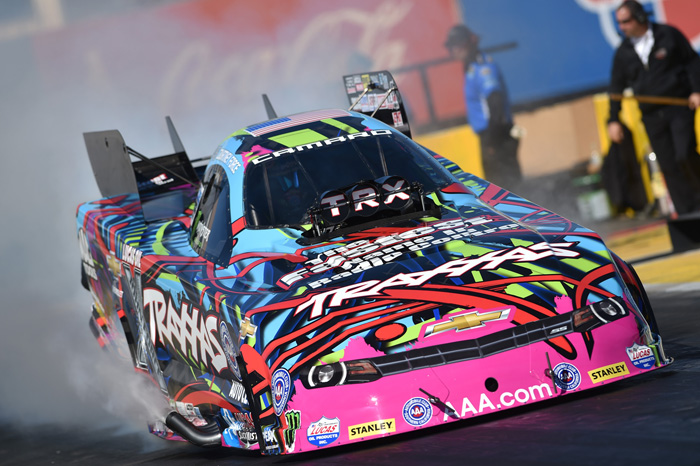 Courtney Force is ready to start fresh