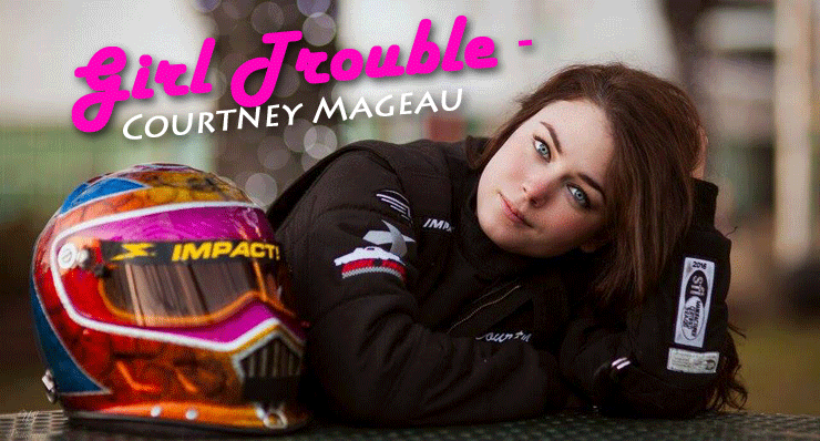 Girl trouble Courtney Mageau
