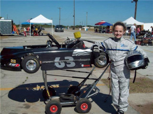 Rachel Kullman, Karting as a child