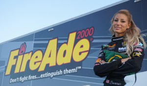 Leah Pritchett FireAde Bob Vandergriff Racing