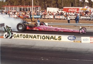 A replica of Shirley Muldowney's 1977 dragster will be raffled for Shirley's Kids