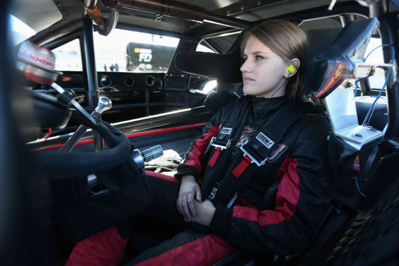 Madeline Crane joins the 2016 NASCAR Drive for Diversity program