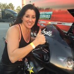 Angelle Sampey ready for the Gatornationals