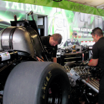 DeJoria adapts to chassis changes