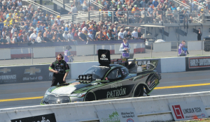 Alexis DeJoria struggles with new chassis change