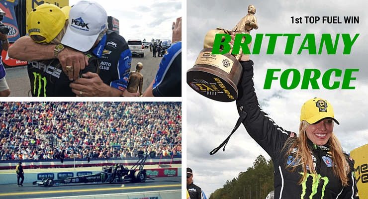 Brittany Force lands first career Top Fuel win